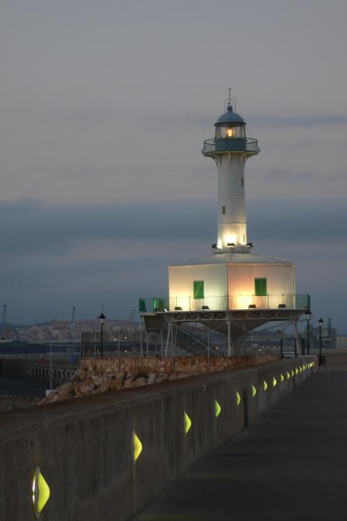 Leuchtturm-Museum von Tarragona, von einer lieben Freundin fotografiert. Juli 2010